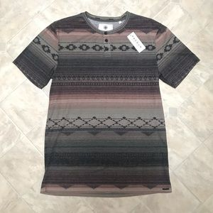 🆕 NWT Men's On The Byas Pacsun Henley T-shirt